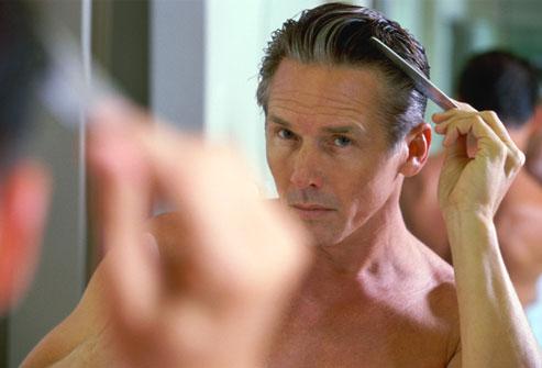 combing hair 2