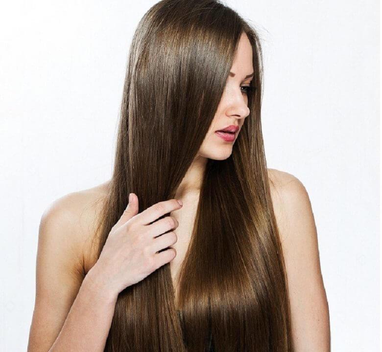 female thicker hair