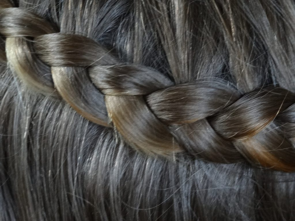 Half Dutch Braid