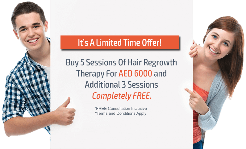 hair loss treatment in Dubai offer
