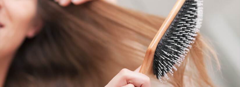 brushing-hair-loss